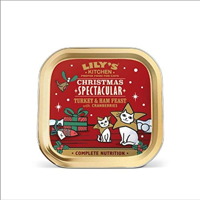 19x 80g Xmas Spectacular Cat Food