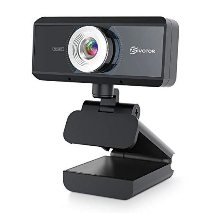 Deal Stack - EIVOTOR Webcam with Microphone