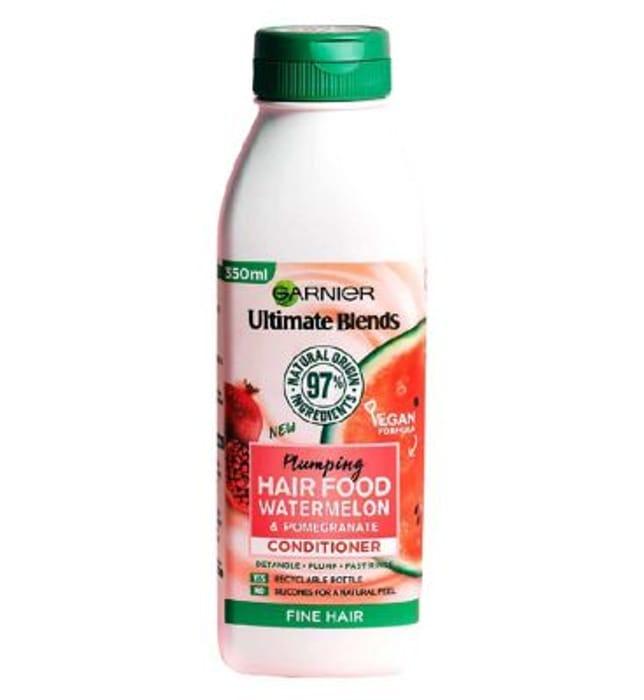 Garnier Ultimate Blends Hair Food Watermelon Conditioner for Fine Hair 350ml