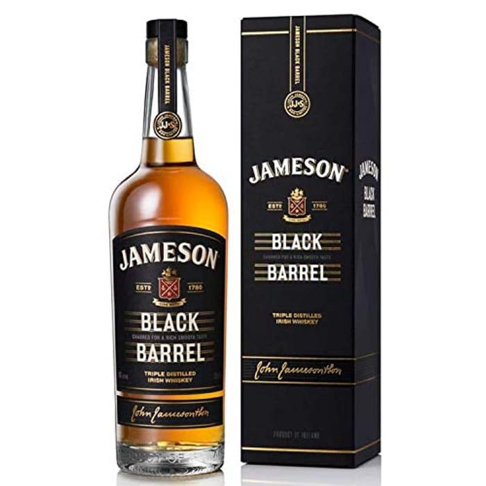 Jameson Black Barrel Blended Irish Whiskey, 70 Cl
