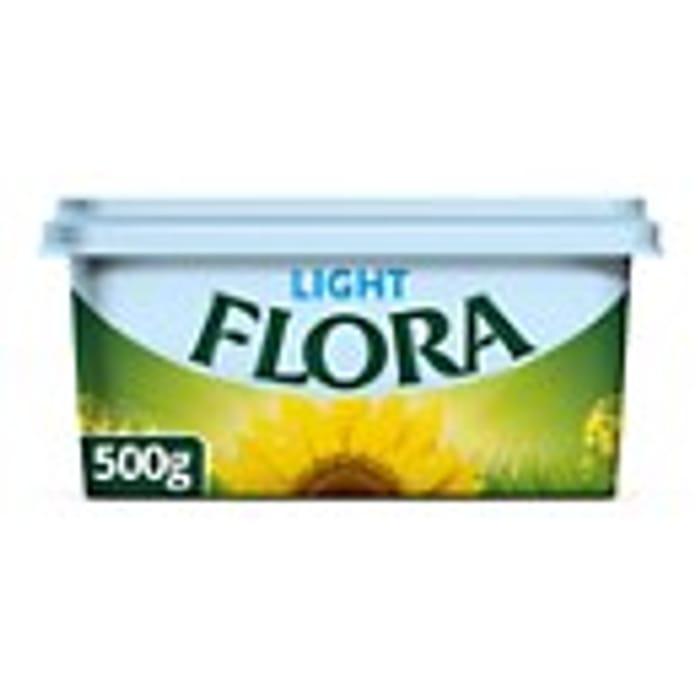 Flora Light Vegan Spread - Gluten Free 500g New Recipe