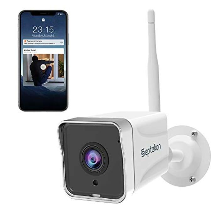 DEAL STACK - Septekon 1080P CCTV WiFi Camera + 10% Coupon