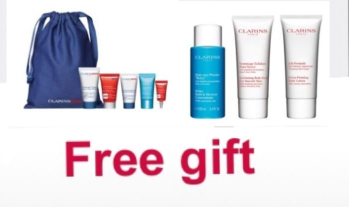 2 Free Gifts Fathers Day& Beauty Gift When Buy2 Selected Clarins 1to Be Skincare
