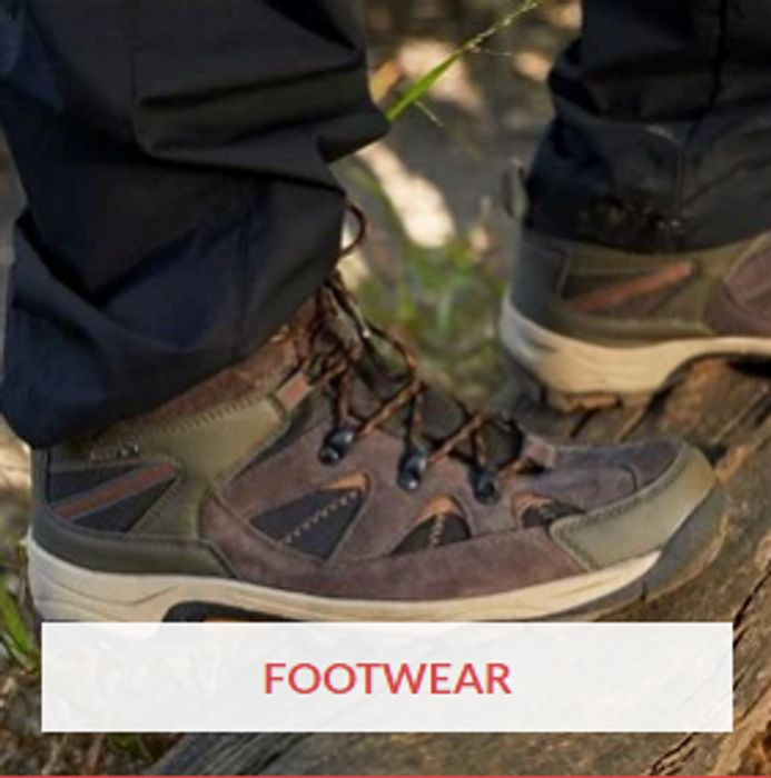 Mens Outdoor Footwear Clearance at Mountain Warehouse