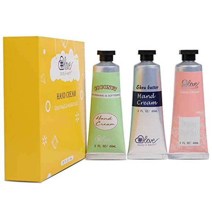 Natural Hand Lotion Gift Set for Dry Hands - Only £3.99!