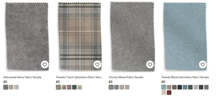 Free Fabric and Wallpaper Samples