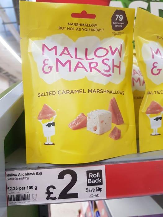 Mallow & Marsh Salted Caramel Marshmallows  85g