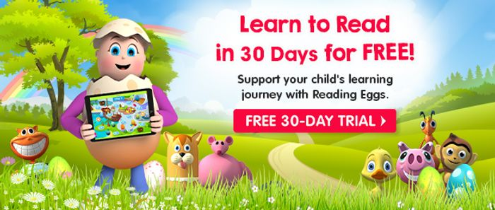 Reading Eggs, Phonics and Mathseeds 30-Day Free Trial