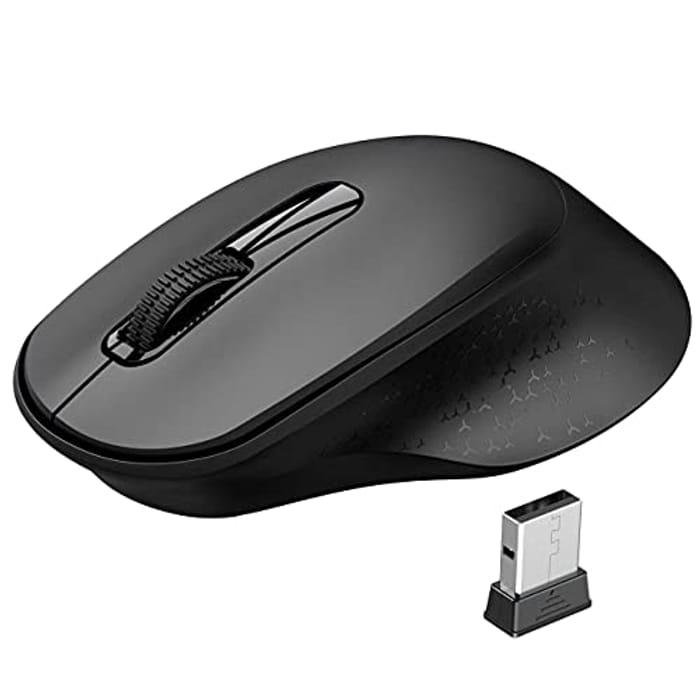 DEAL STACK - Vic Tech Portable & Ergonomic USB Computer Mini Mouse + 20% Coupon