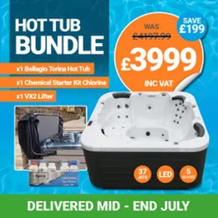 Bellagio Torina Hot Tub Bundle