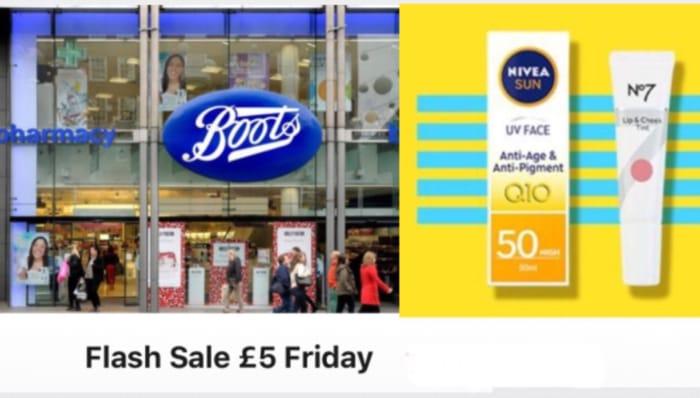 Boots £5 Friday Deals!