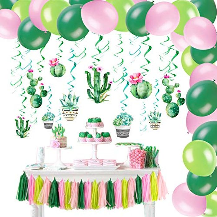 DEAL STACK - SUNBEAUTY Summer Tropical Party Decorations + 20% Coupon