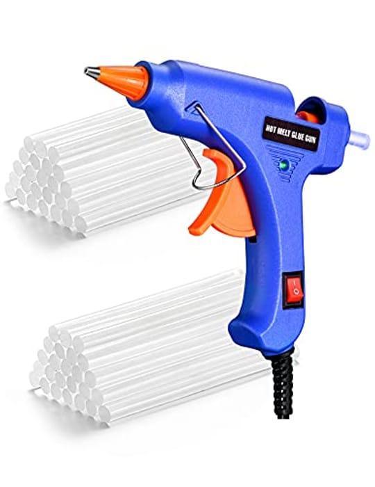 Mini Glue Gun with 50 Glue Sticks ( with 50 Percent Voucher )