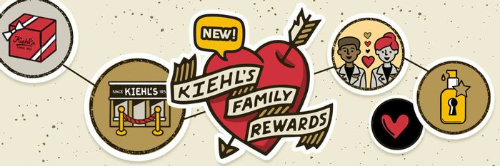 Free Birthday Treat and Other Rewards When You Join KIEHLS FAMILY REWARDS