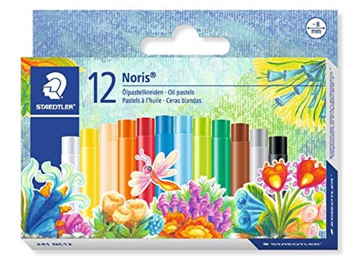 12 Pack Staedtler Oil Pastels