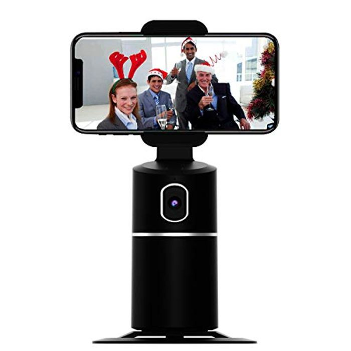 DEAL STACK - Face Tracking Cell Phone Stand Desktop Phone Holder + £3 Coupon