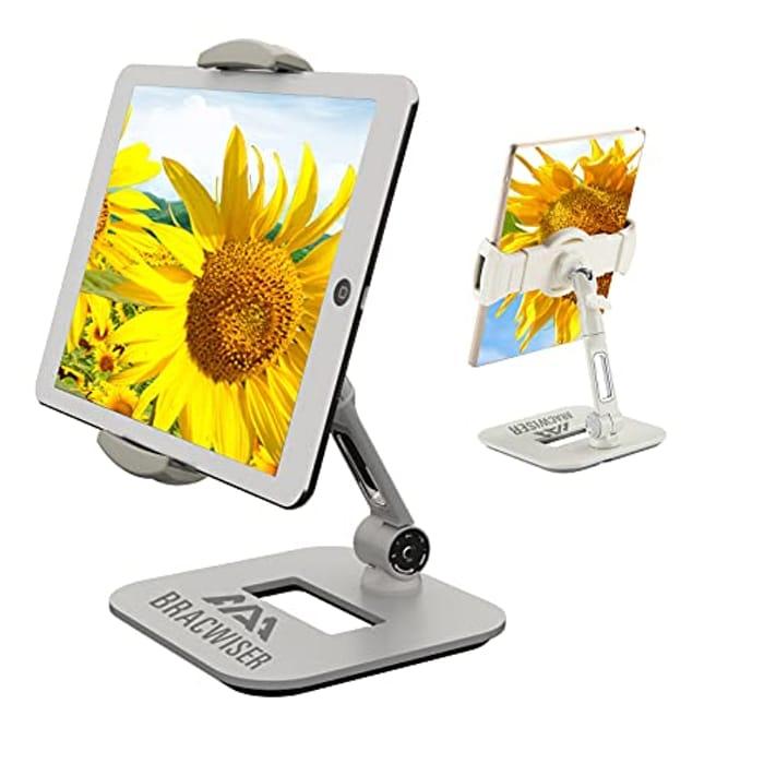 Aluminum Adjustable Tablet Holder for Bed - Only £9!