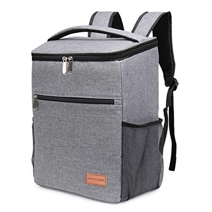 NASUM Large Insulated Cooler Picnic Backpack - Only £16.72!