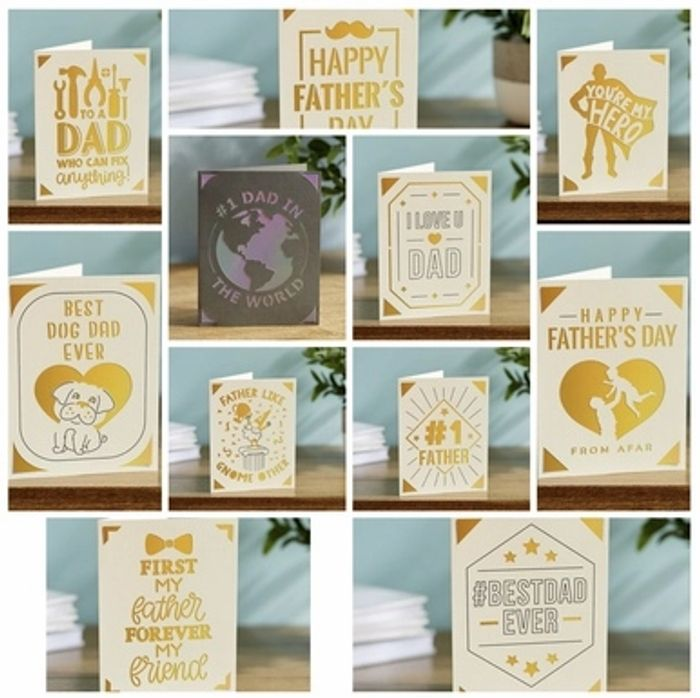 CHEAP! Handmade Fathers Day Cards W/free Delivery at Giveapersonalisedgift
