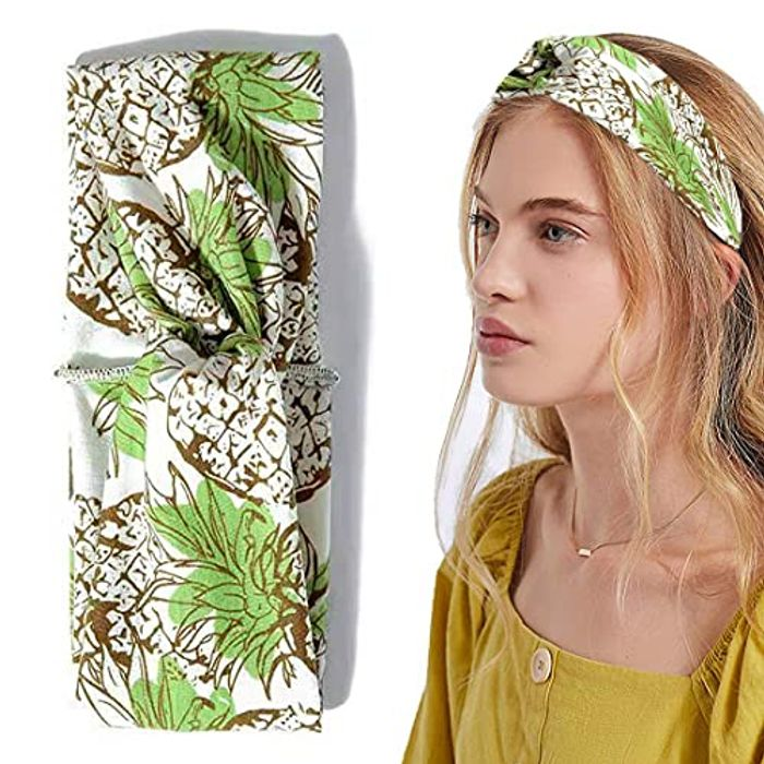 Turban Vintage Elastic Flower Style Hairband - Only £1.57!