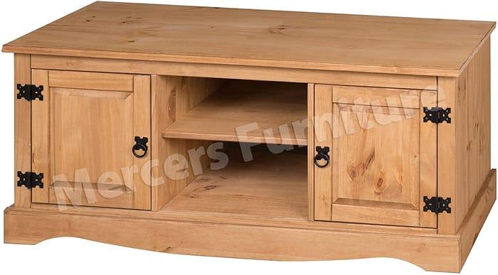 *SAVE over £44* Mercers Furniture 2 Door Flat Screen TV Media Unit