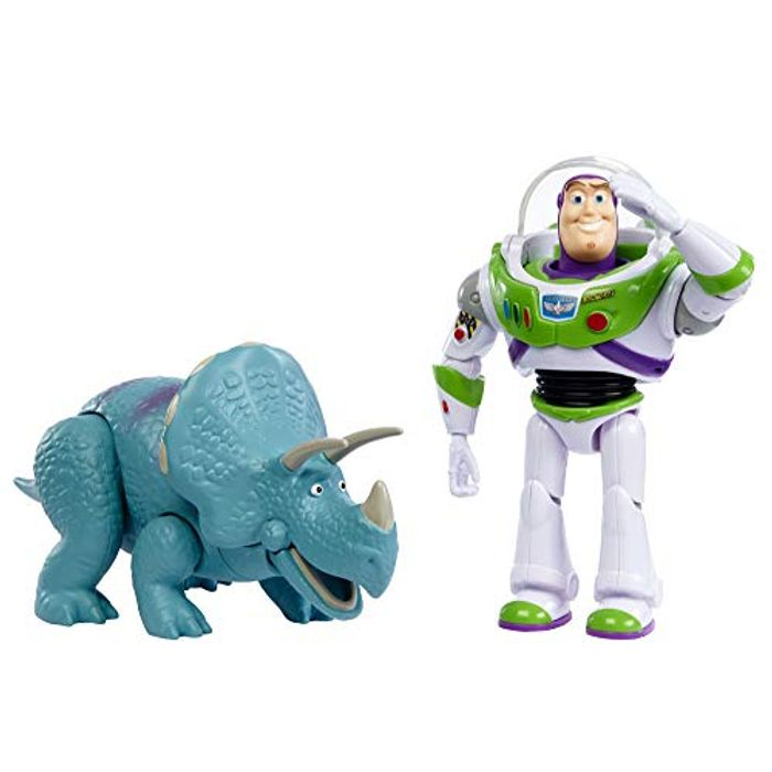 Disney Toy Story GJH80 Pixar Buzz Lightyear and Trixie 2-Pack
