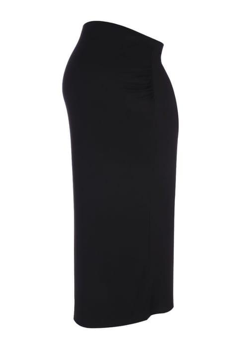 Cheap Maternity Black Jersey Pencil Skirt at Peacocks