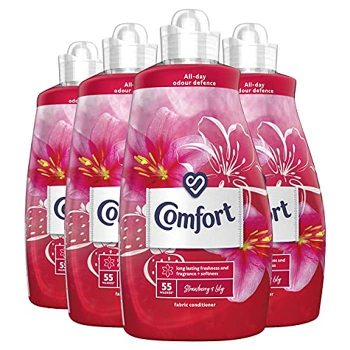 Comfort Fabric Conditioner and Softener Liquid   220 Washes