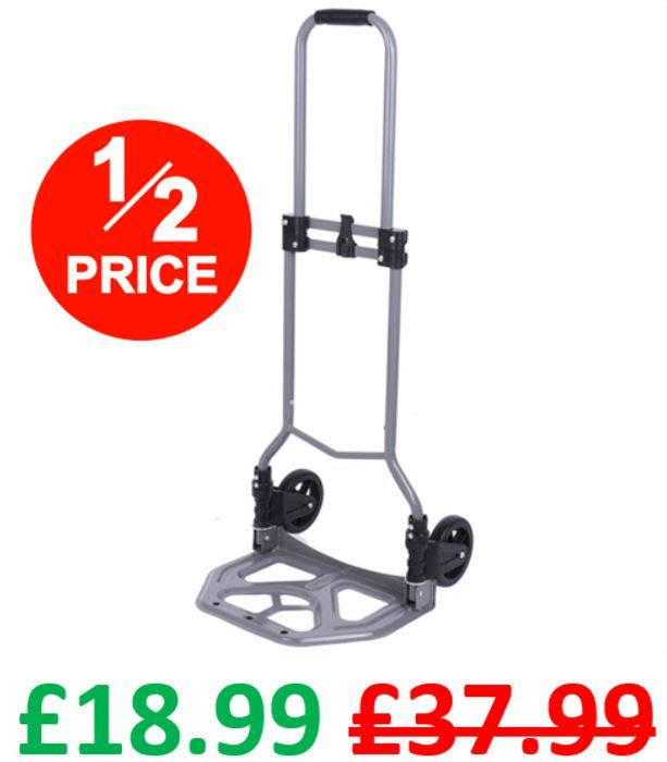 1/2 PRICE - Pro-Craft Folding Hand Truck - FREE Click & Collect