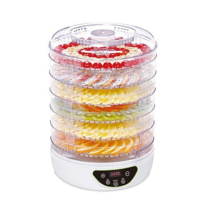 BPA Free Digital Food Dehydrator Dryer 6 Collapsible Shelves 48 Hour Timer