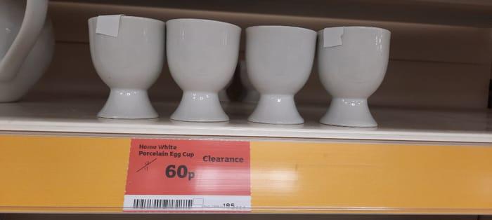 Sainsburys Porcelain Egg Cups
