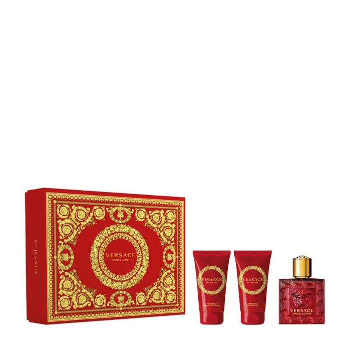 Special Offer! Half Price Versace Eros Flame Gift Set -Perfect for Fathers Day!