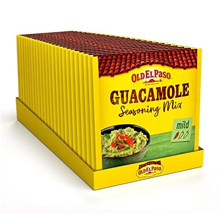 Old El Paso Mexican Guacamole Seasoning Mix 20 G (Pack of 24)
