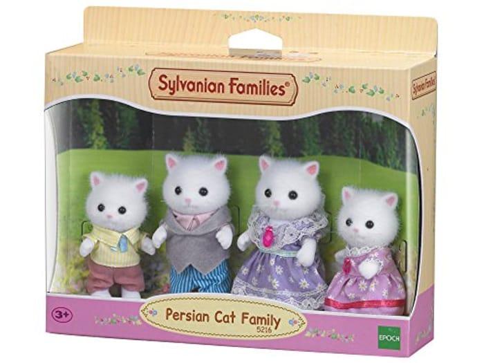 BEST EVER PRICE Sylvanian Families - Persian Cat Family Set