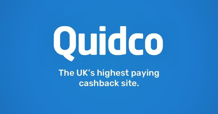 Quidco £10 Bonus Cashback with £5 or More Spend!