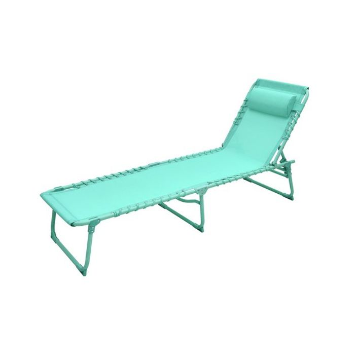 2 Sun Loungers in Teal or Yellow for £55 at Argos Free Click & Collect