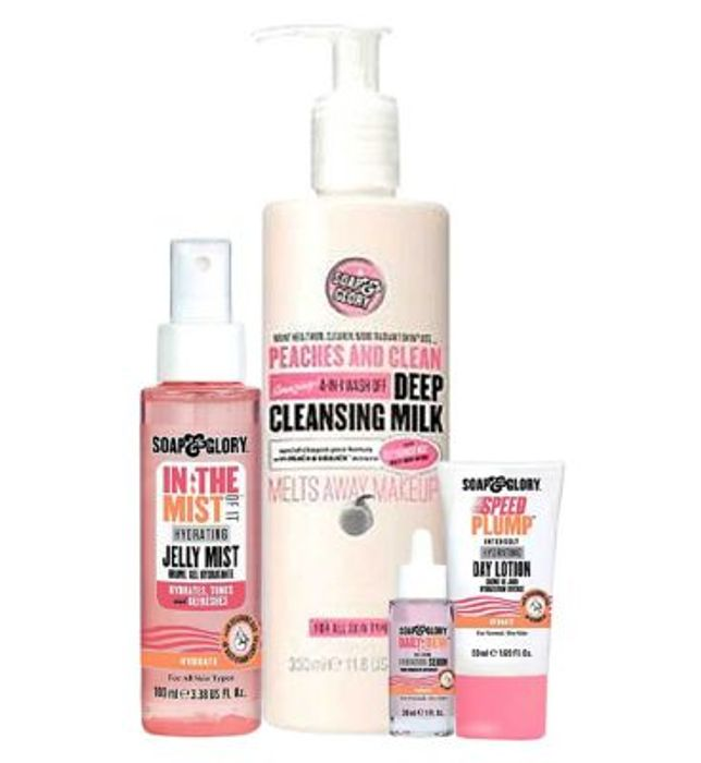 Soap & Glory Glorious Hydration Bundle worth £45 (only £21.50 with code)