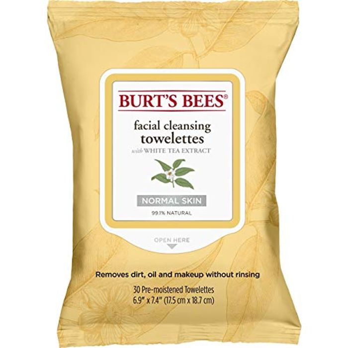 Burt's Bees 99.1% Natural Facial Cleansing Towelettes 30 Count
