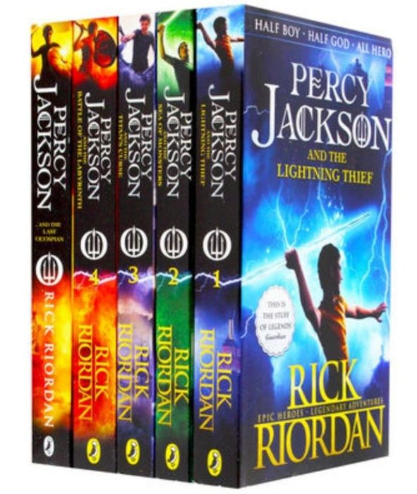 Percy Jackson: 5 Book Collection
