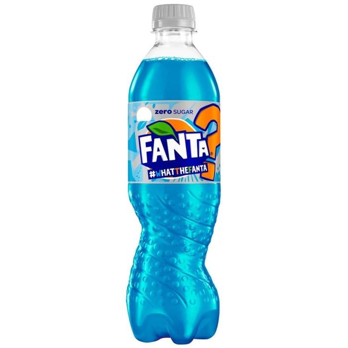 Fanta Zero Sugar 'What the Fanta' 500ml