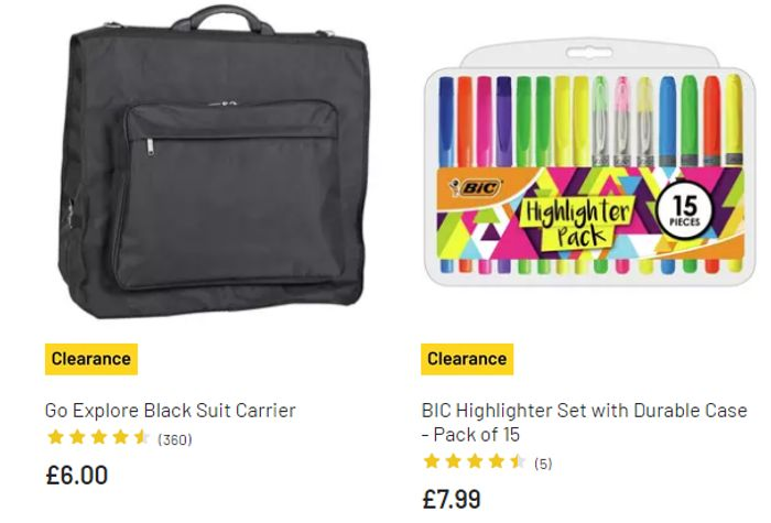 Special Offer! Sports and Leisure Products on Clearance at Argos