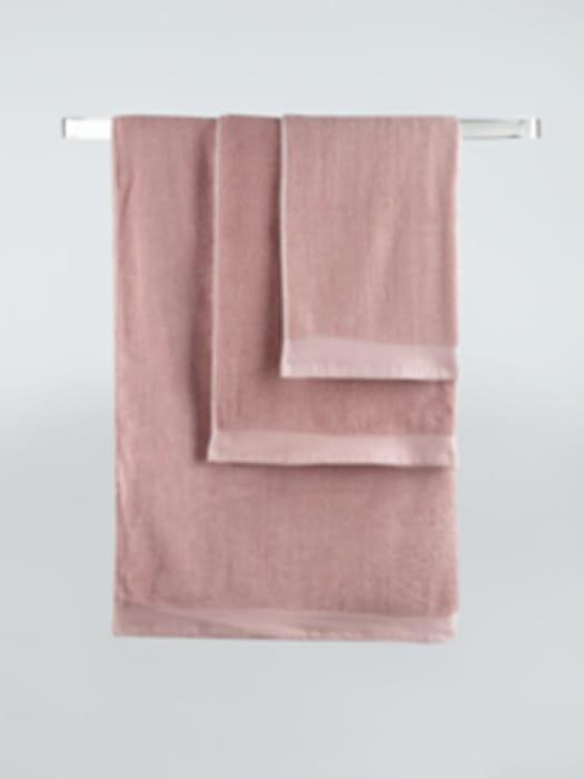 Pink/ Honey/ Blue/ Emerald/ Lunar Rock Towels - Hand £2.50,Bath £3,Bath Sheet £5