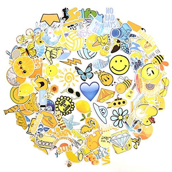 150 Pcs Trendy Graffiti Stickers