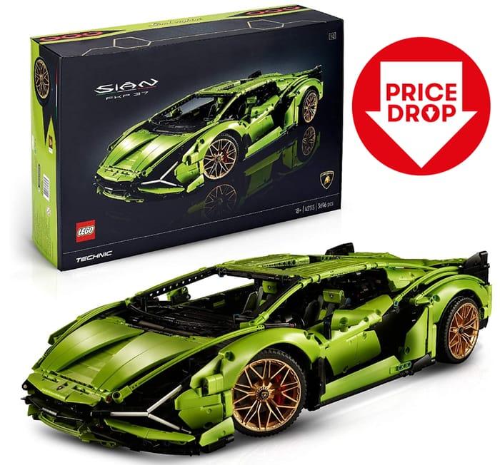 SAVE £130 - LEGO 42115 Technic Lamborghini Sian FKP 37