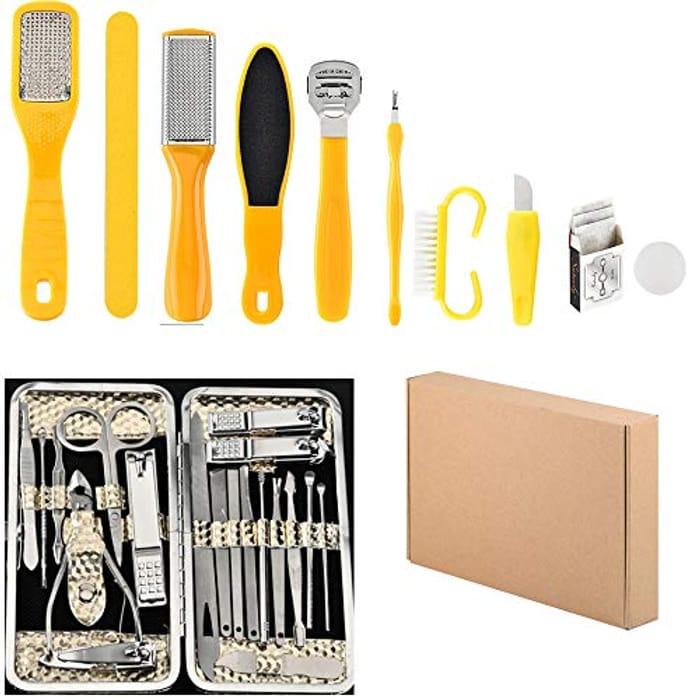 10 in 1 Pedicure Kit + 19 in 1 Manicure Kit