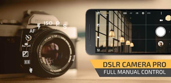 Manual Camera : DSLR - Camera Professional Temp Free