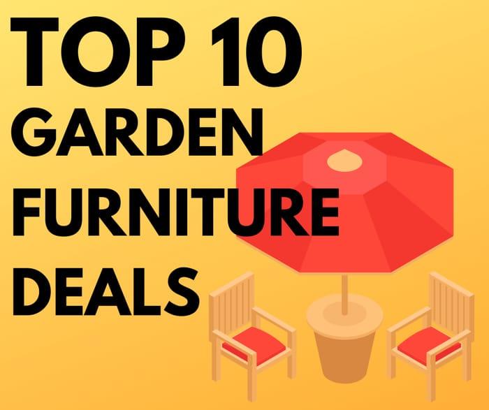 10 Cheap Garden Furniture Deals - From £23.99!