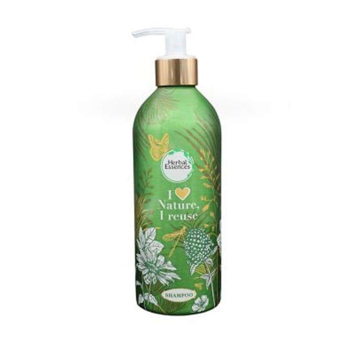 Herbal Essences Argan Oil Repair Shampoo with Reusable Bottle 430ml