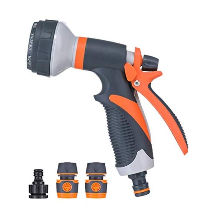 DEAL STACK - PATHONOR Garden Hose Spray Nozzle + 5% Coupon