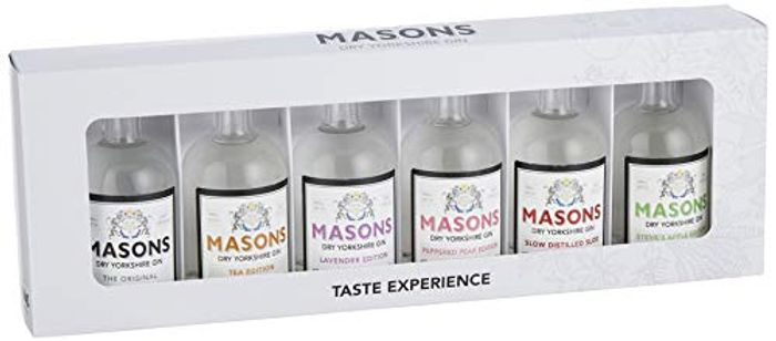 Masons 6 X 5 Cl Taste Experience Gin Gift Set